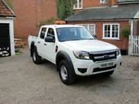 2012 FORD RANGER 2.5 TDCI XL - DOUBLE CAB - 4X4 PICK UP - FULL SERVICE HISTORY