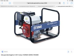 Génératrice Honda 5000 Watts