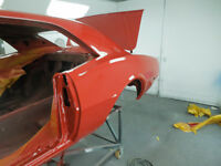bodywork/restoration and paint
