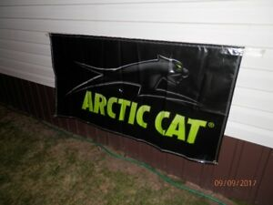 Arctic Cat Banner 3' x 6' *Excellent Christmas Gift*
