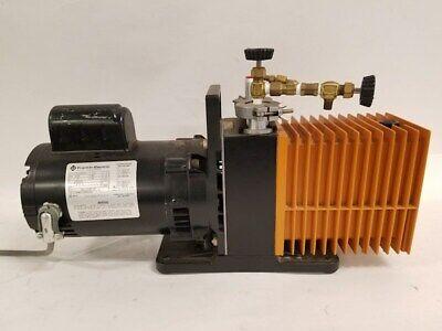 Alcatel 2008a Vacuum Pump W Franklin Electric Motor 12 Hp 1725 Rpm