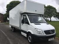 Mercedes Sprinter 2.1Cdi 130ps LWB Removal Dropwell Luton Van, New 16ft Body