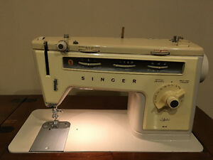 Singer Stylist 514 sewing machine and Cabinet