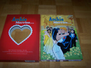 ARCHIE MARRIES... HARRY ABRAMS 2010 SLIPCASE FIRST ED HC
