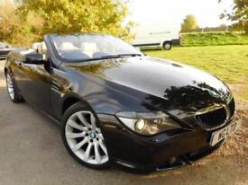 2007 BMW 6 Series 630i Sport 2dr Auto Pro Nav! Active Steering! 2 door Conve...