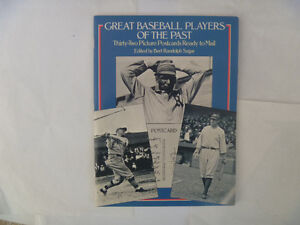 Great BASEBALL Players Of The Past - 32 Postcards