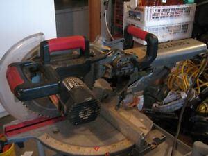 "CRAFTSMAN PROFESSIONAL 12"" SLIDING MITRE SAW"