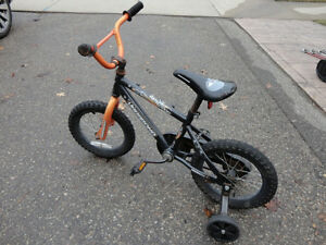 Vagabond Astar Dust Small Childs Bike w/Train Wheels -Needs tire