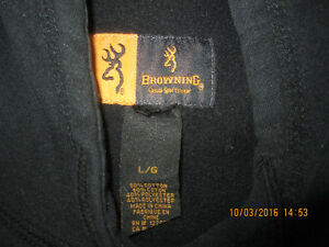 Large Browning Sports Hoody