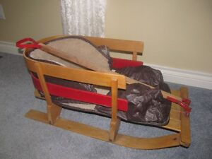 BABY PULL SLEIGH SLED