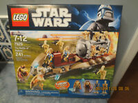 New Lego Star Wars 7929 The Battle of Naboo w/12 Minifigs