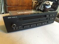 BMW 1 or 3 Series business CD player head unit