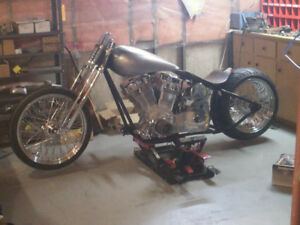 custom chopper for sale