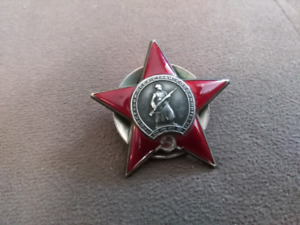 WW2 Russian Order of the red star