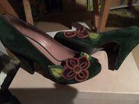 MiuMiu peep toe shoes