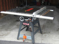 "10"" Craftman Stationary Table Saw"