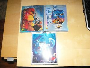 Blu-Ray et inclus DVD films Disney a partir de 25 dollars neufs