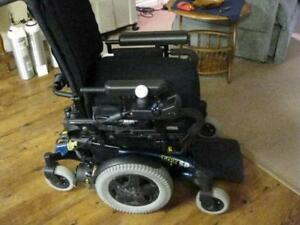 Power Wheelchair Invacare Excellent Condition - Used Few times Only - Comes with Portable charger