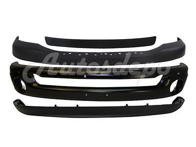 For 2006-2008 RAM 1500 2500 3500 FRONT BUMPER UPPER CAP STEP PAD VALANCE 4PCS