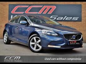 Volvo V40 1.6 D2 SE 5DR 2013 + ONE OWNER + FULL HISTORY + LOW MILES + BLUETOOTH