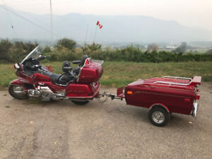 1993 GL1500 Gold Wing & Trailer