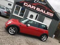 MINI COOPER 1.6 (114BHP) (CHILLI PACK) 3DR WHITE ROOF MIRRORS PX WELCOME