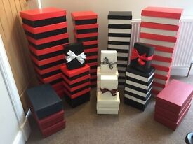 Gift Boxes ideal for Christmas or Storage