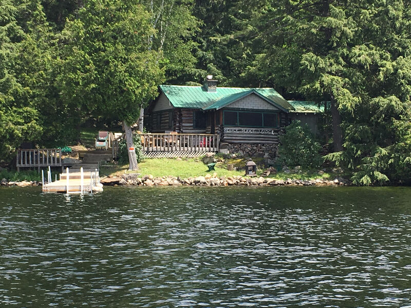 charleston lake rental cottage hodge podge lodge