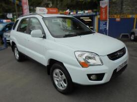 2010 10 KIA SPORTAGE 2.0 CRDI XE 4X4 IN WHITE # DEMO AND ONE OWNER #