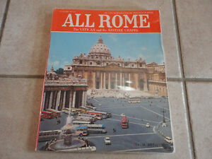 All Rome The Vatican and The Sistine Chapel Book London Ontario image 1