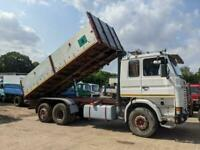 Left hand drive Scania 142h, 3 way tipper,1991,