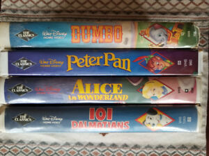 Disney Black Diamond VHS Collection