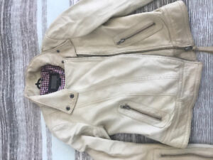 Mackage for Aritzia limited edition leather jacket M