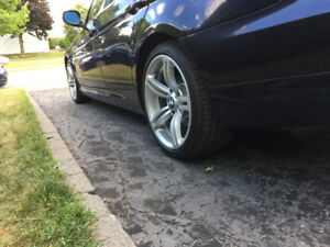 4 x Mags BMW avec Pneus neuf (staggered)