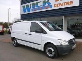 2012 Mercedes-Benz VITO 110 CDI COMPACT SWB Van *LOW MILES* Manual Medium Van