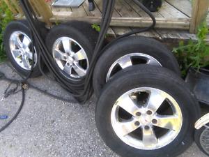 Goodyear allure tires on Grand Prix rims 225 60 R16