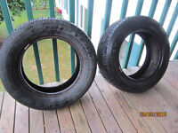Two 14 Inch All season Tires For Sale $5 Each