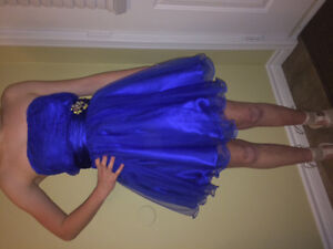 Graduation/ formal dress -royal blue