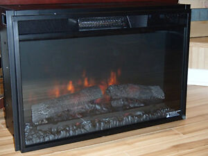 """ChimneyFree Spectra 26"""" Electric Fireplace Insert with Heather"""
