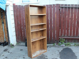 Wood Shelf, mainly constructed from particle board