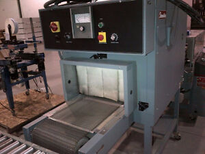 Used Shrink Wrap Machine – Shanklin T7H Shrink Tunnel (103)