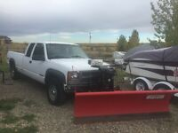 1996 Chevy Snow plow Truck.