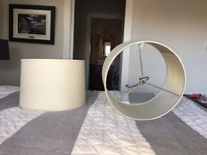Set of 2 matching lamp shades