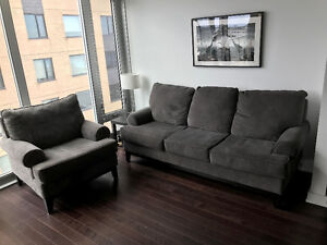 Very nice couch and chair - great price