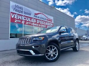 Jeep Grand Cherokee 4WD 4dr Summit+TOIT+MAGS+CUIR+WOW! 2014