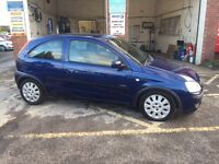 Vauxhall corsa, 2003/53, petrol, manual, long mot, £595