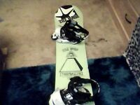 rome degenerati snowboard 152 with rome mob bindings