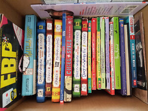 Many boxes of excellent scholastic children's books