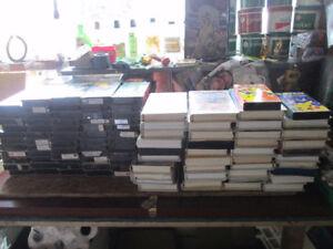 159 CASSETTES VHS EN EXCELLENTES CONDITION