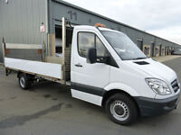 2013 Mercedes-Benz Sprinter 313 CDi LWB 4.2 METRE Dropside + 500kg Tail lift
